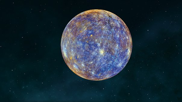 Mercury, Planet, Space, Universe, Astronomy, Galaxy