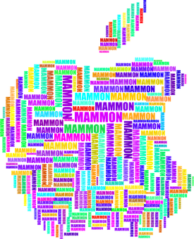 Apple, Mammon, Typography, Computers, Money