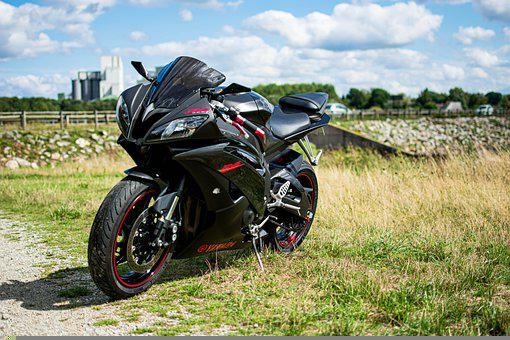 Motorbike, Yamaha, R6, Motorcycle, Vehicle
