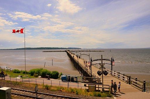 Sea, Pier, Dock, Wooden Pier, Ocean, Water, Coast