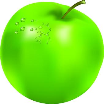 Apple, Fruit, Organic, Juicy, Green