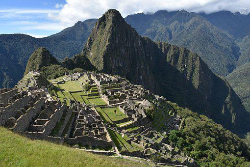 Machu Picchu, Inca, Valley, Ancient, Ruins, Mountains