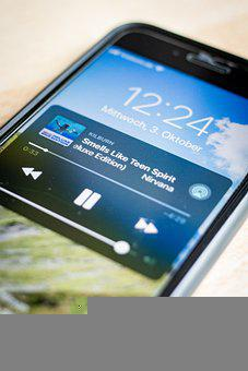 Iphone, Mobile Phone, Smartphone, Playing Music, Music