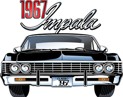 Car, Vehicle, Automobile, Impala, Vintage, Retro
