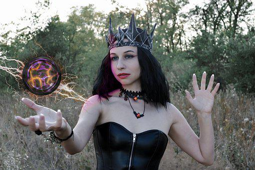 Woman, Witch, Fantasy, Magic Ball, Witchcraft, Evil