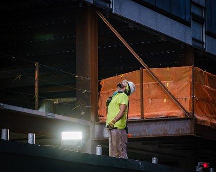 Man, Worker, Builder, Construction Worker, Construction
