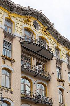 Architecture, Balcony, Facade, Building, Terrace