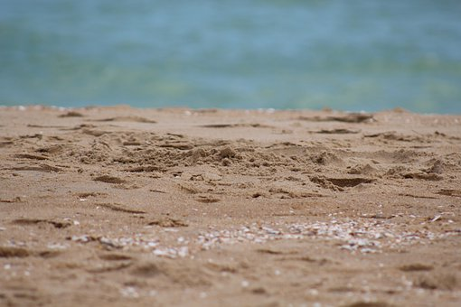 Sand, Beach, Ocean, Sea, Seashore, Coast, Nature, Sandy