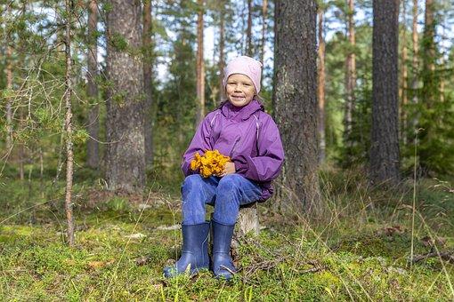 Kid, Child, Forest, Girl, Leisure, Adventure, Nature