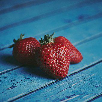 Strawberries, Fruit, Berries, Healthy, Food, Vitamins