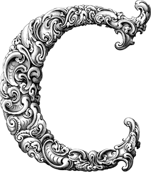 Letter C, Alphabet, Typography, Font, Line Art