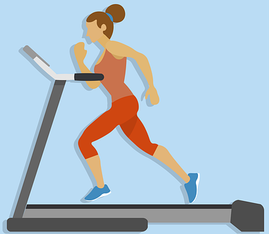 Running, Running On A Treadmill, Running Icon, Icon