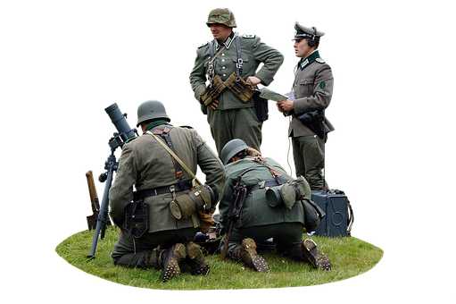 Military, Army, Ww2 Mortar, World War, World War 2, Ww2