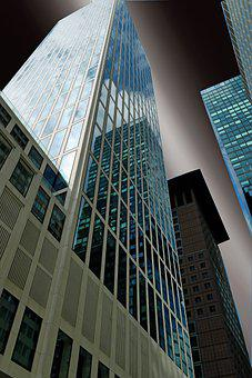 Skyscraper, Facade, Architecture, Building