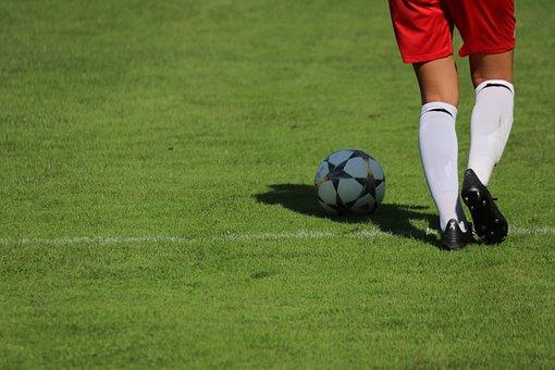 Ball, Football, Soccer, Play, Sport, Football Pitch