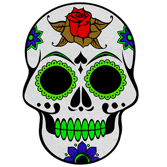 Skull, Icon, Skull Icon, Day Of The Dead