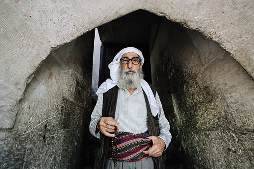 Old Man, Man, Traditional Wear, Turkey Sash