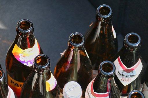 Bottles, Beverages, Glass, Recycling, Beer Bottle