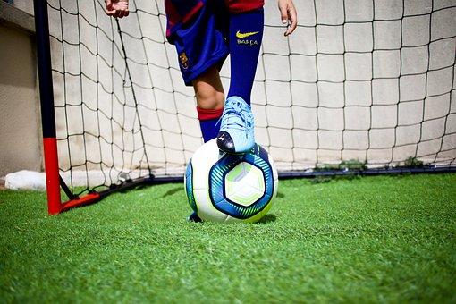 Ball, Soccer Player, Goal, Soccer, Football, Sport