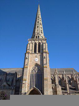 Architecture, Tower, Church, Cathedral, Catholic Church