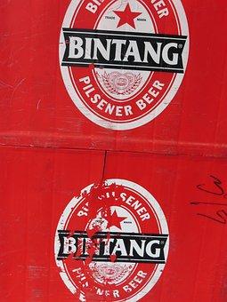Pilsener Beer, Beer, Asia, Asian, Brand, Bintang