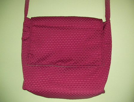Bag, Handbag, Red