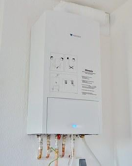 Heating, Tankless Water Heater, Beuler, Gas