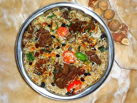 Camel Meat, Dish, Biryani, Cuisine, Arabian, Karachi