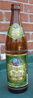 Bayerbräu, Pilsener, Beer, Bottle, Bavaria, Drink