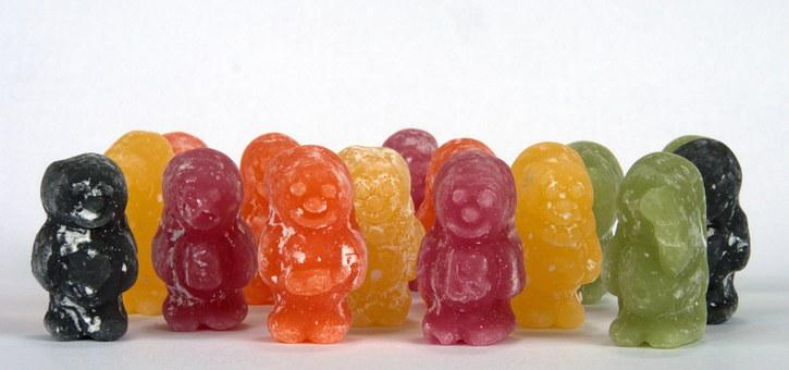Jelly Baby, Candy, Diversity, Sweet, Jelly, Baby