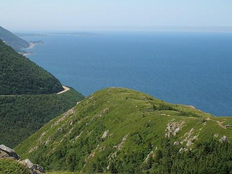 Cabot Trail, Cape Breton, Vista