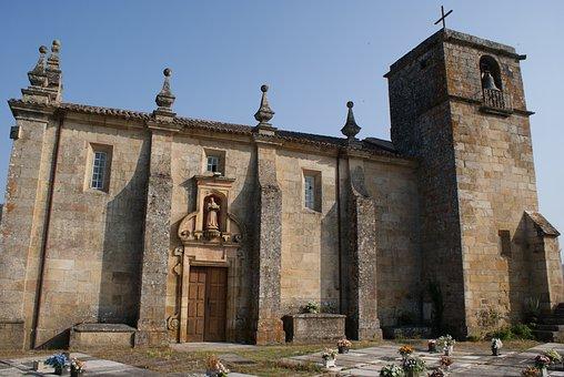 Romanesque, Church, Castrelo De Miño, Ourense