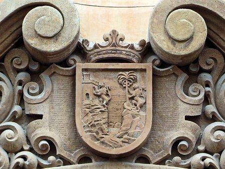Mexico, Chiapas, San Pedro, Coat Of Arms, Colonization