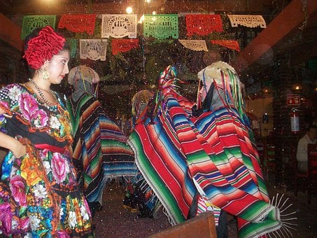 People, Chiapas, Mexico, Dancing, Folk-dance