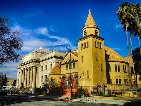 Unitarian Church, Faith, Religion, Hdr, Sky, Clouds