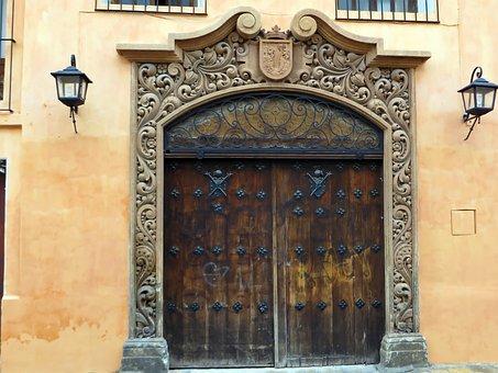 Mexico, Chiapas, San Pedro, Portal, Colonization