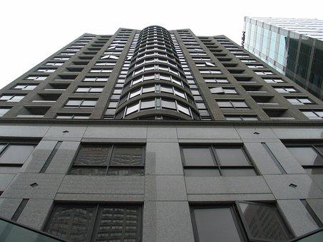Condo, Building, Apartment, City, Urban, Exterior