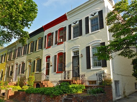 Foggy Bottom, Washington Dc, Houses, Homes, Condos