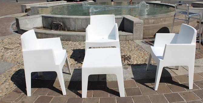 Chairs, Coffee Table, Relax, Fontana, Outdoors, Coffee