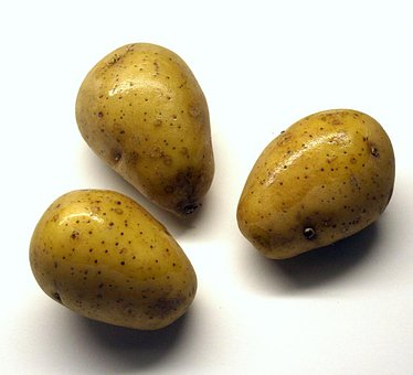 Potatoes, Raw, Unpeeled, Earth Apple, Cook, Food, Eat