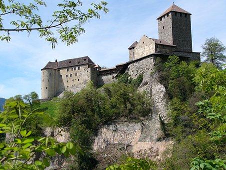 Castle, Meran, South Tyrol, Tyrol, Fortress, Italy