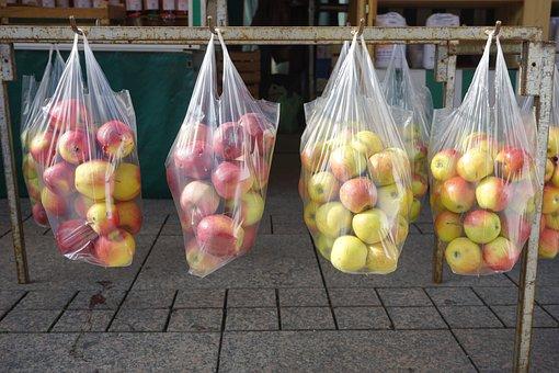 Apple, Apple Sales, Market, Fruit, Vitamins, Fresh