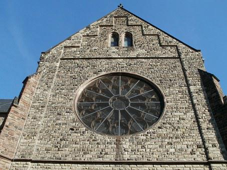 Gothic, Church, St Josef, Malstatt, Gable, Window
