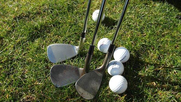Golf, Golfer, Golfing, Pitching Wedge, Sand Wedge