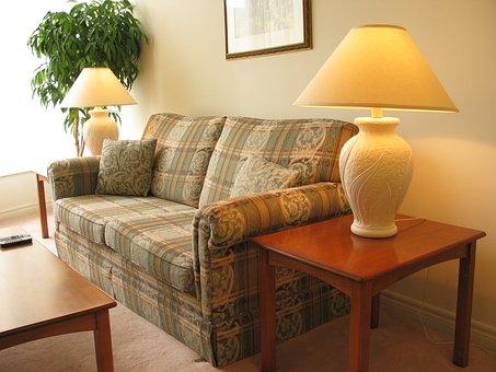 Sofa, Apartment, Condo, House, Interior, Living Room