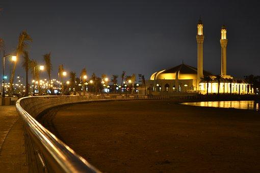 Jeddah, Mosque, Saudi, Landmark