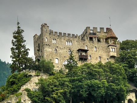 Castle, Knight's Castle, Middle Ages, Fortress, Italy