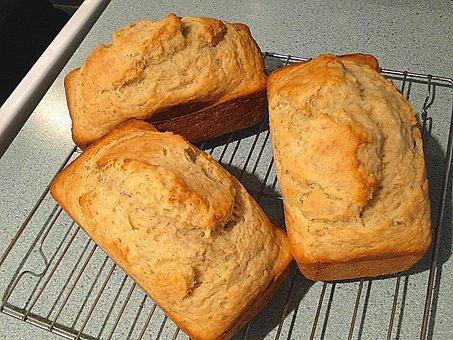 Bread, Loaves, Homemade, Fresh, Individual, Small