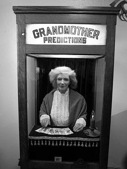Lucky Machine, Fortune Telling, Spiritualism, Letters