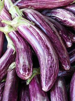 Eggplant, Mark, Purple, Violet, Striped